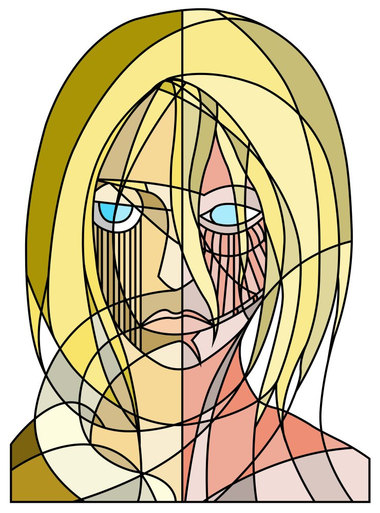 Abstract Annie Leonhart